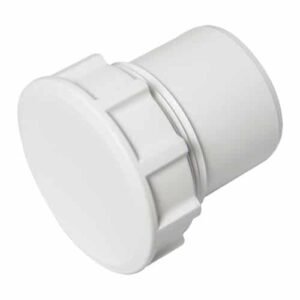 solvent weld access cap white