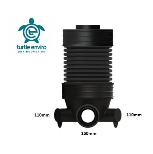 600mm diameter ppic twinwall manhole base 150