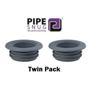 pipesnug twin pack grey