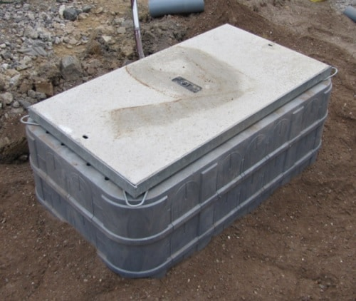 BT Concrete Access Cover Frame in situe
