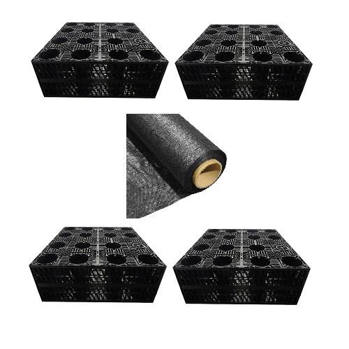 Soakaway Kit 4 Crates Geo