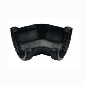 floplast-112mm-half-round-135d-gutter-angle-black-ra2b