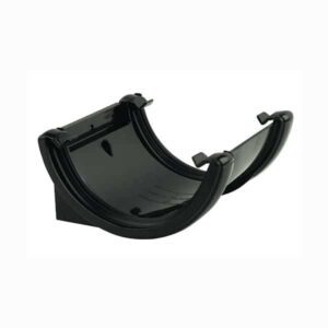 floplast-112mm-half-round-union-bracket-black-ru1b