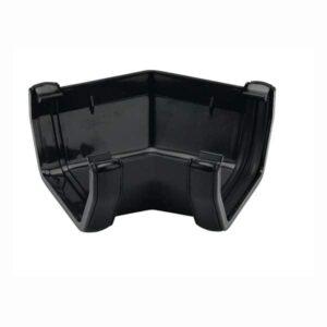 black-square-gutter-135d-angle-black-floplast-114mm-ras2b