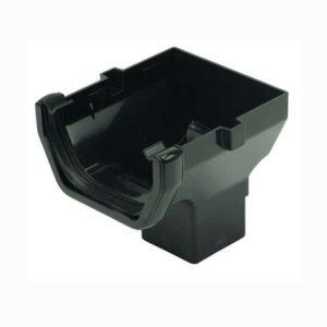 black-square-gutter-stopend-outlet-floplast-114mm-ros2bk