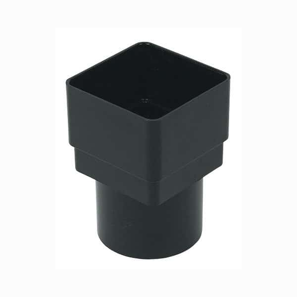 black-square-to-round-down-pipe-socket-floplast-65mm-68mm-rds2bk