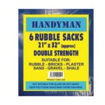 Rubble Sacks 21″ x 32″ – 6 pack