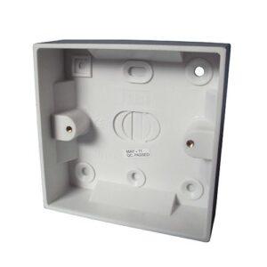 Plastic-pattress-box-single