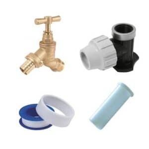 MDPE Garden Tap Kits Speedy Specials