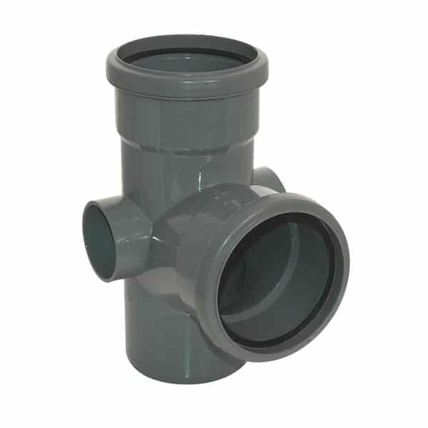 110mm-92.5-degree-double-socket-branch-anthracite-grey