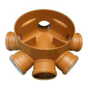 110mm x 315mm Level Invert Manhole Chambers