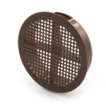 Soffit Disc Vent 75mm dia – Brown Pack Of (10)